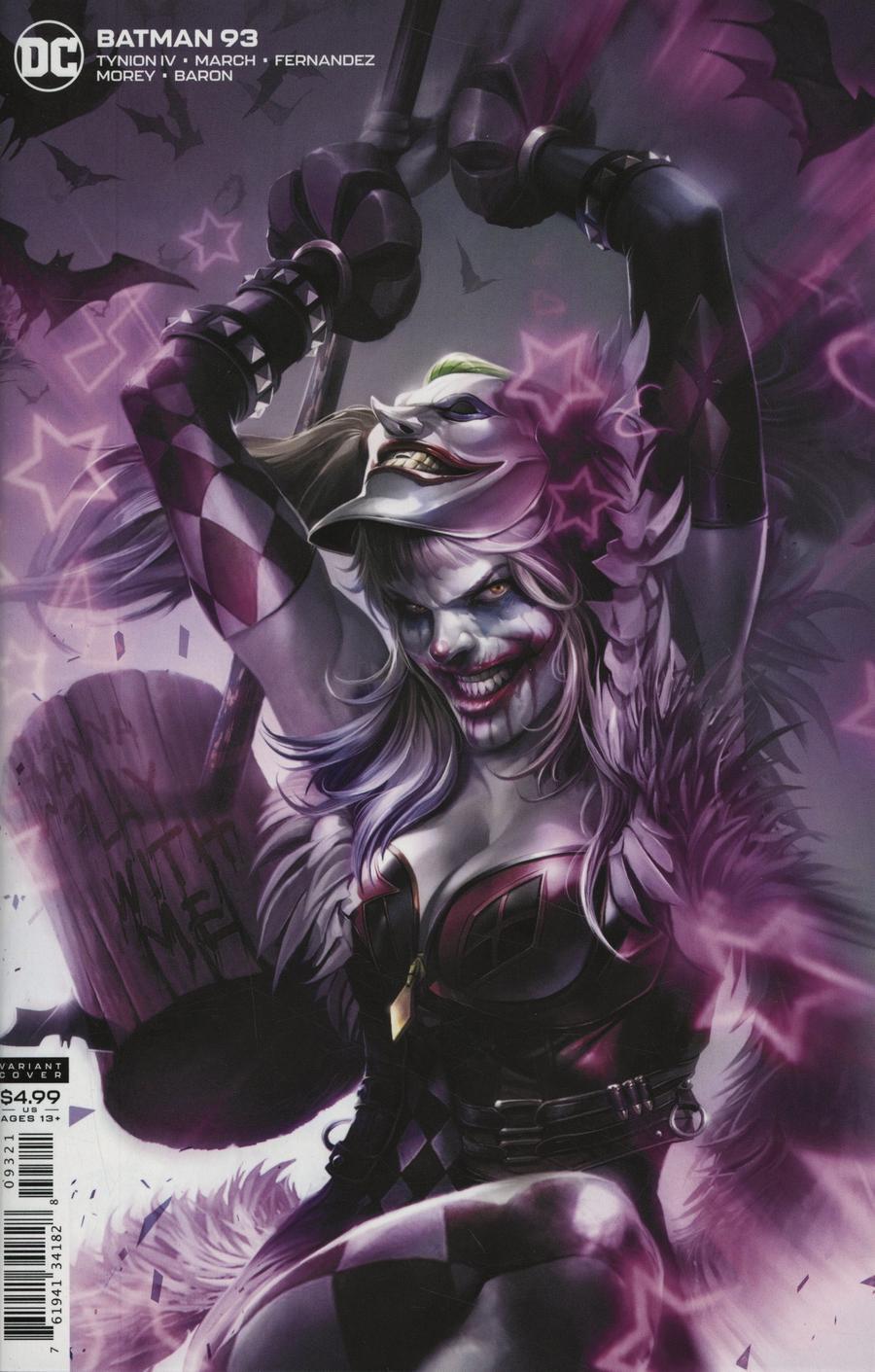 Batman Vol 3 #93 Cover B Variant Francesco Mattina Card Stock Cover