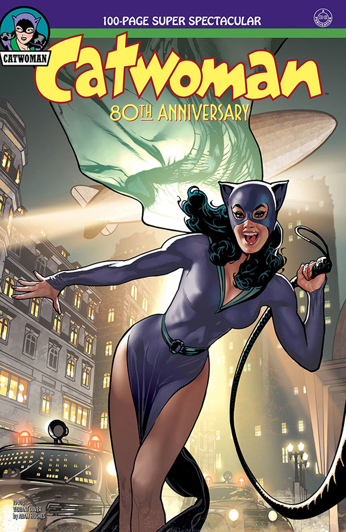 Catwoman 80th Anniversary 100-Page Super Spectacular #1 Cover B Variant Adam Hughes 1940s Cover