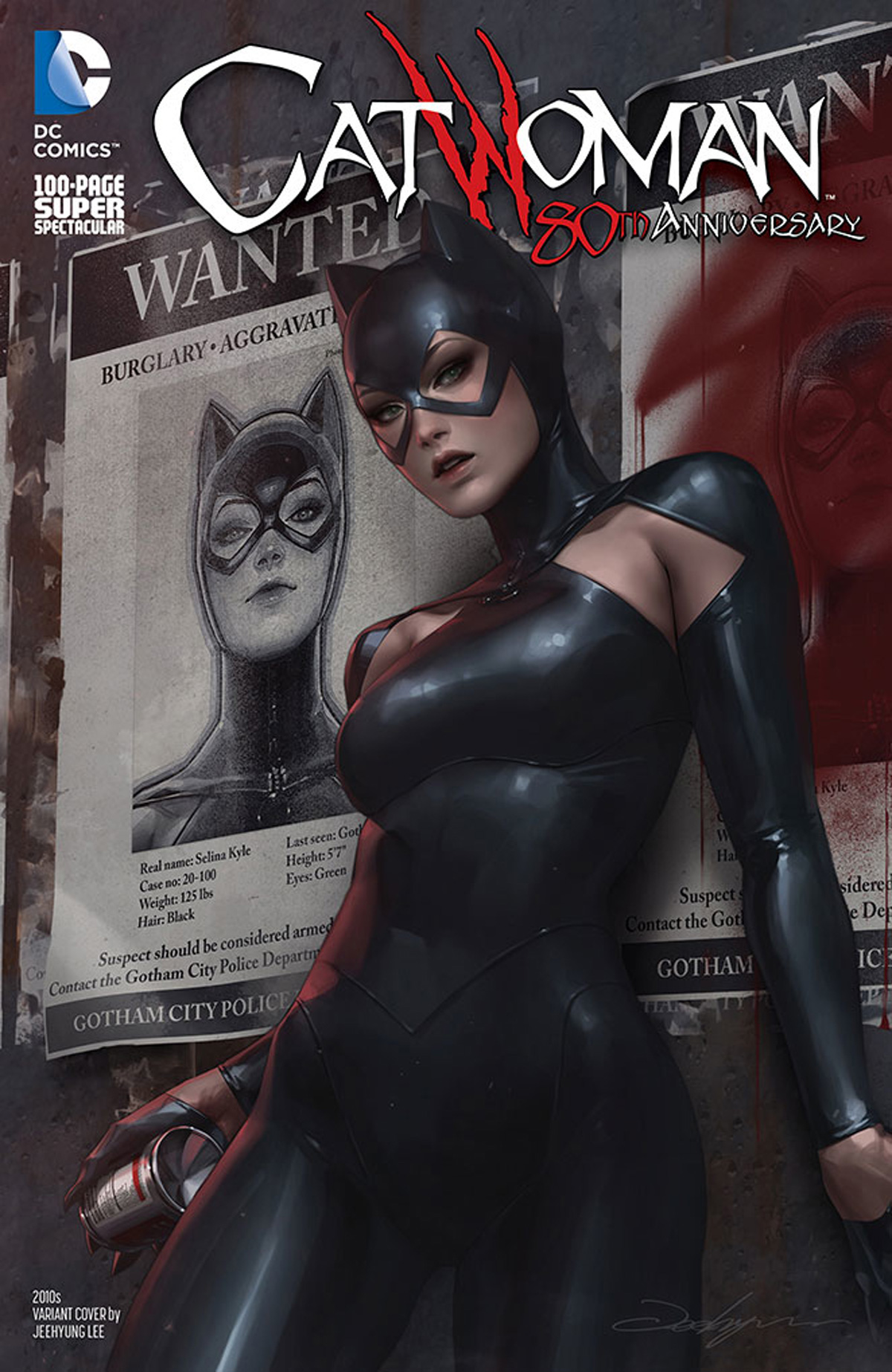 Catwoman 80th Anniversary 100-Page Super Spectacular #1 Cover I Variant Jeehyung Lee 2010s Cover