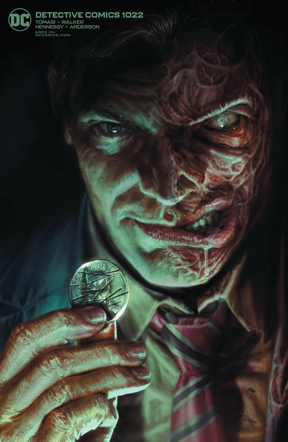 Detective Comics Vol 2 #1022 Cover B Variant Lee Bermejo Card Stock Cover (Joker War Tie-In)