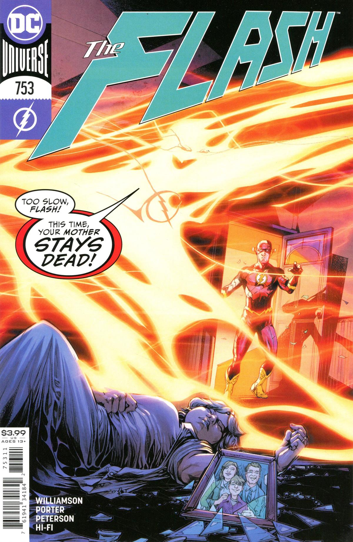 Flash Vol 5 #753 Cover A Regular Howard Porter Cover