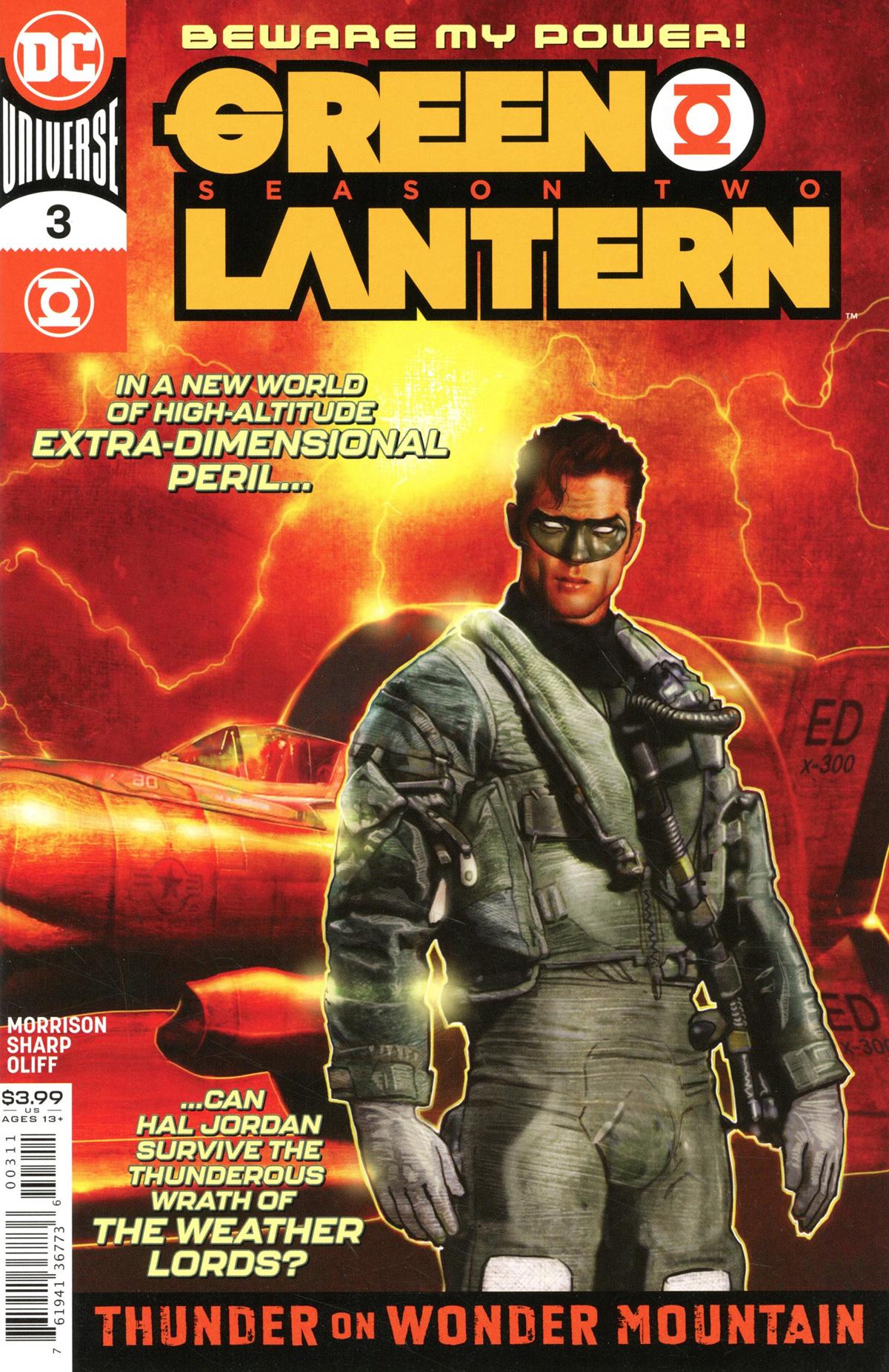 Green Lantern Vol 6 Season 2 #3 Cover A Regular Liam Sharp Cover
