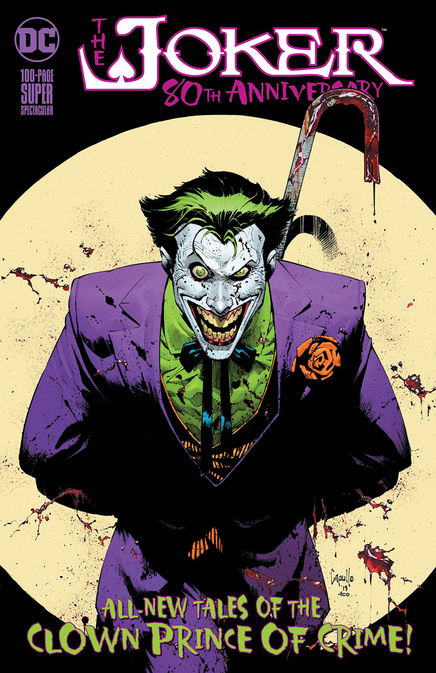 Joker 80th Anniversary 100-Page Super Spectacular #1 Cover A Regular Greg Capullo Cover