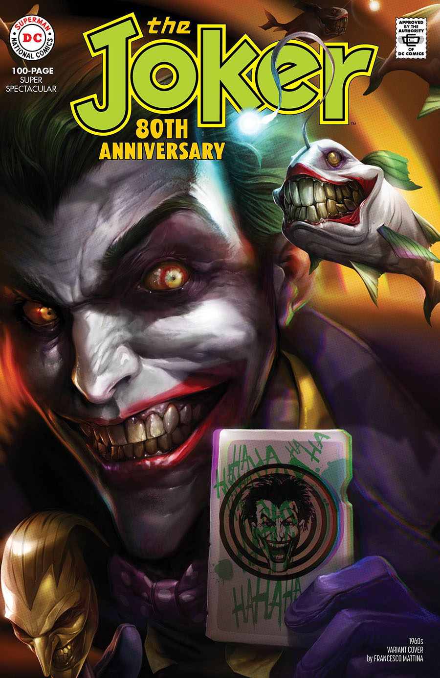 Joker 80th Anniversary 100-Page Super Spectacular #1 Cover D Variant Francesco Mattina 1960s Cover