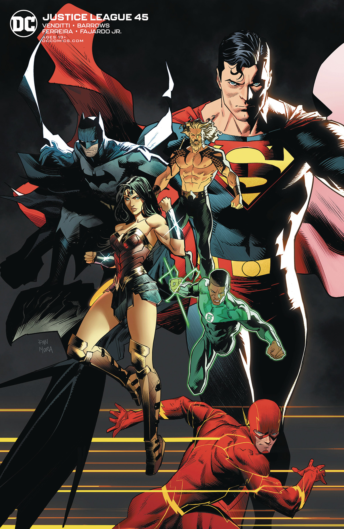 Justice League Vol 4 #45 Cover B Variant Dan Mora Cover