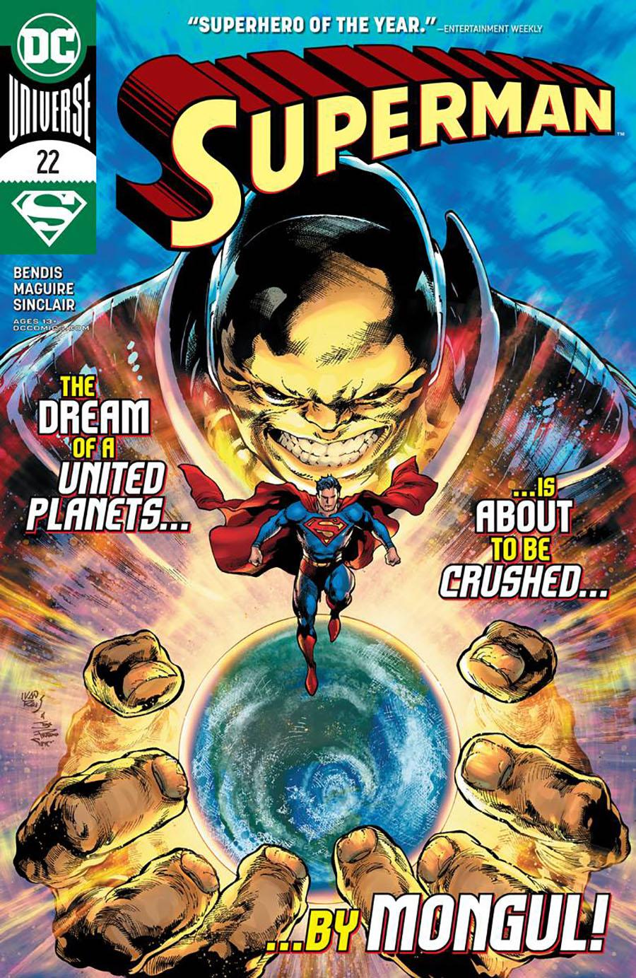 Superman Vol 6 #22 Cover A Regular Ivan Reis & Joe Prado Cover