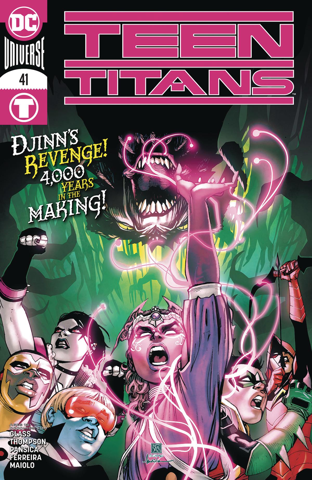 Teen Titans Vol 6 #41 Cover A Regular Bernard Chang Cover