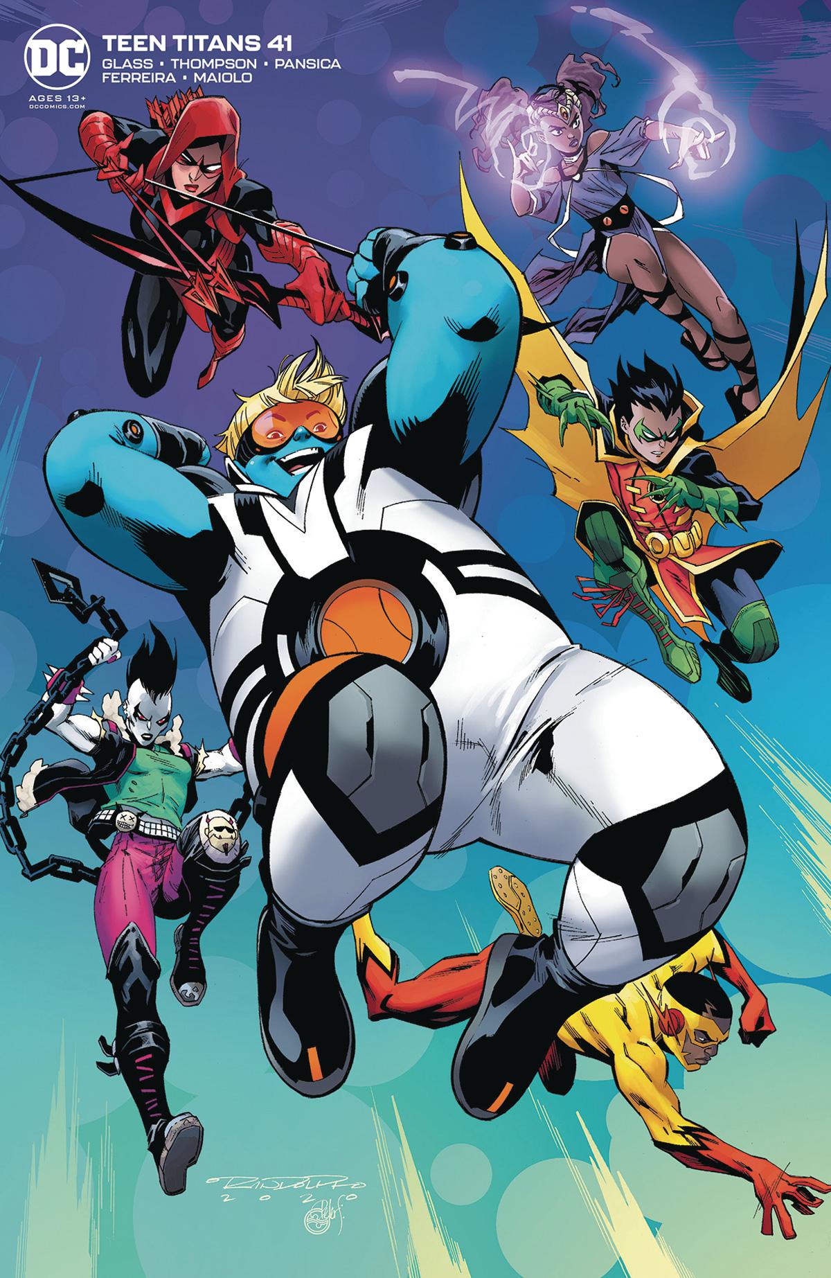 Teen Titans Vol 6 #41 Cover B Variant Khary Randolph Cover