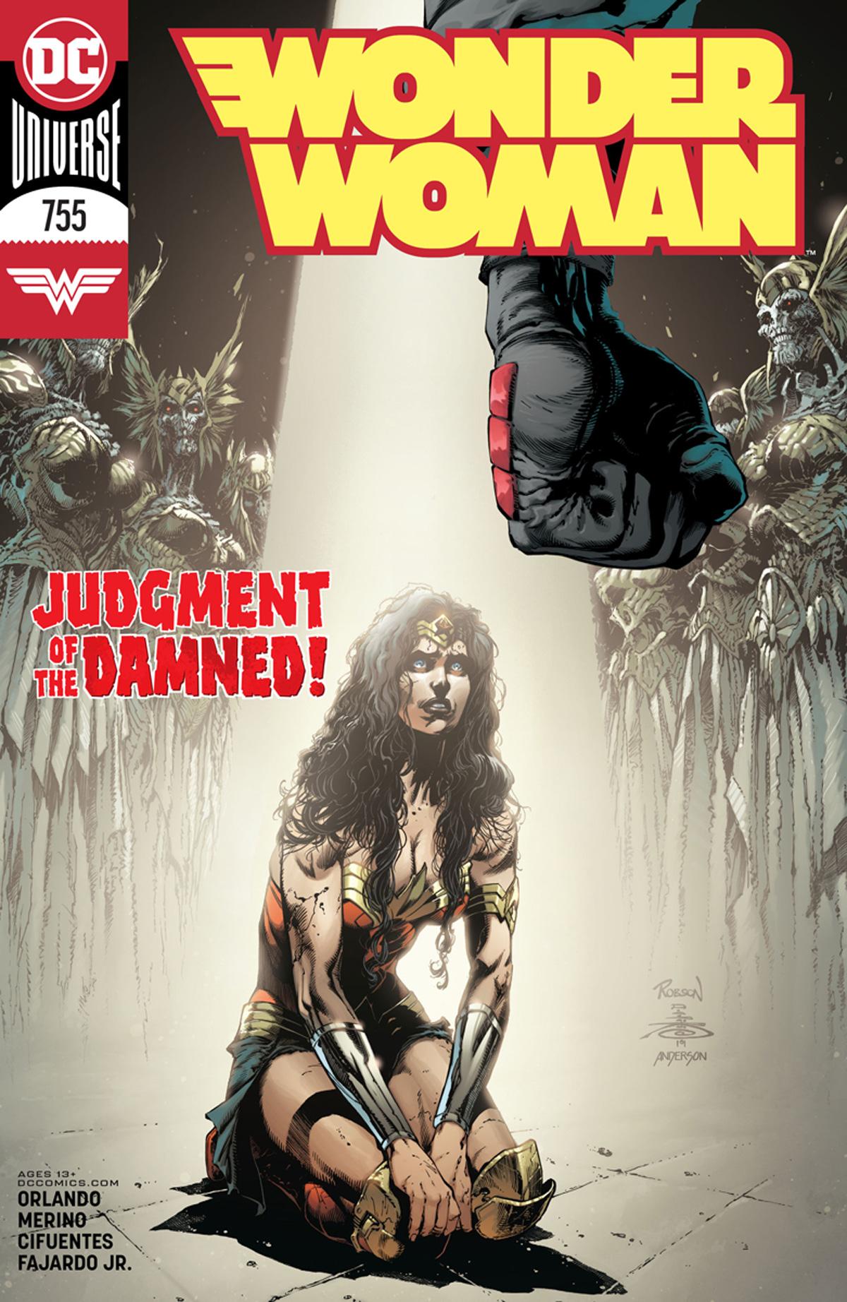 Wonder Woman Vol 5 #755 Cover A Regular Robson Rocha & Danny Miki Cover