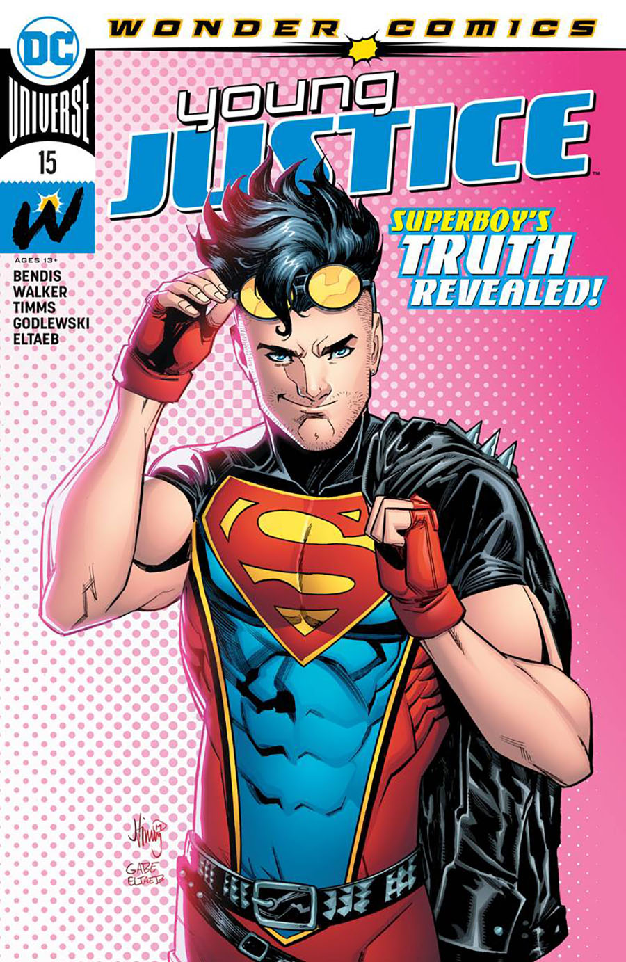 Young Justice Vol 3 #15 Cover A Regular John Timms Cover