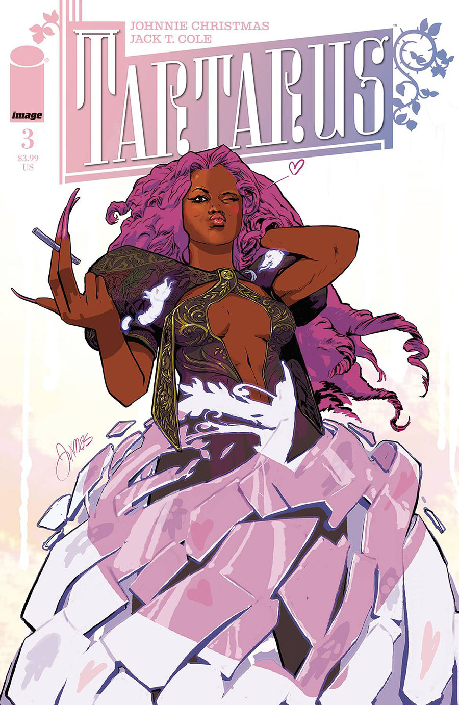 Tartarus #3 Cover B Variant Johnnie Christmas Cover