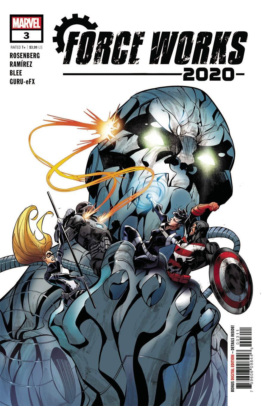 2020 Force Works #3 Cover A Regular Juanan Ramirez Cover