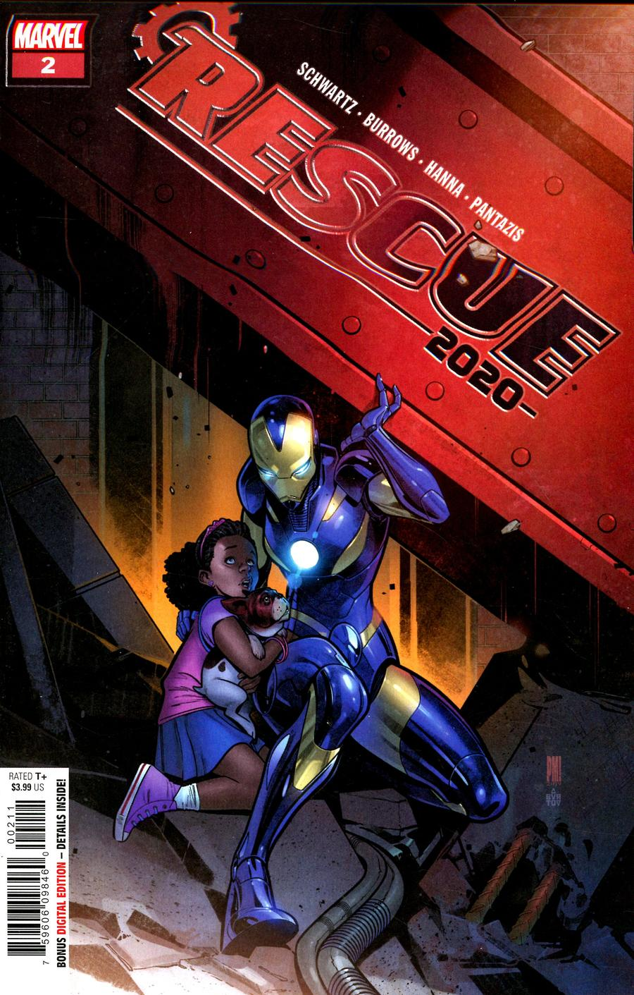 2020 Rescue #2 Cover A Regular Paco Medina Cover