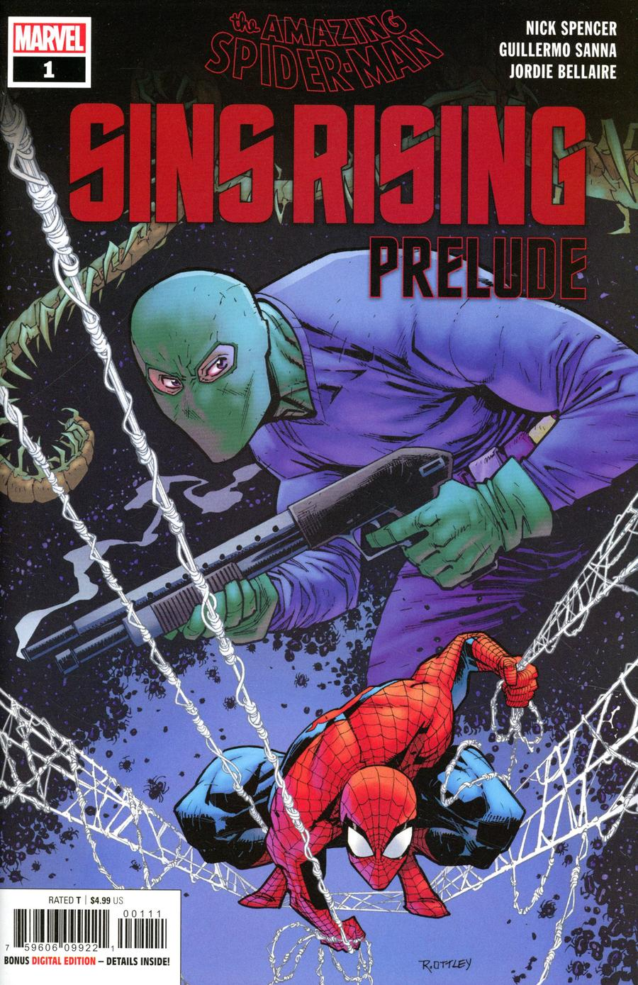 Amazing Spider-Man Sins Rising Prelude #1 Cover A Regular Ryan Ottley Cover