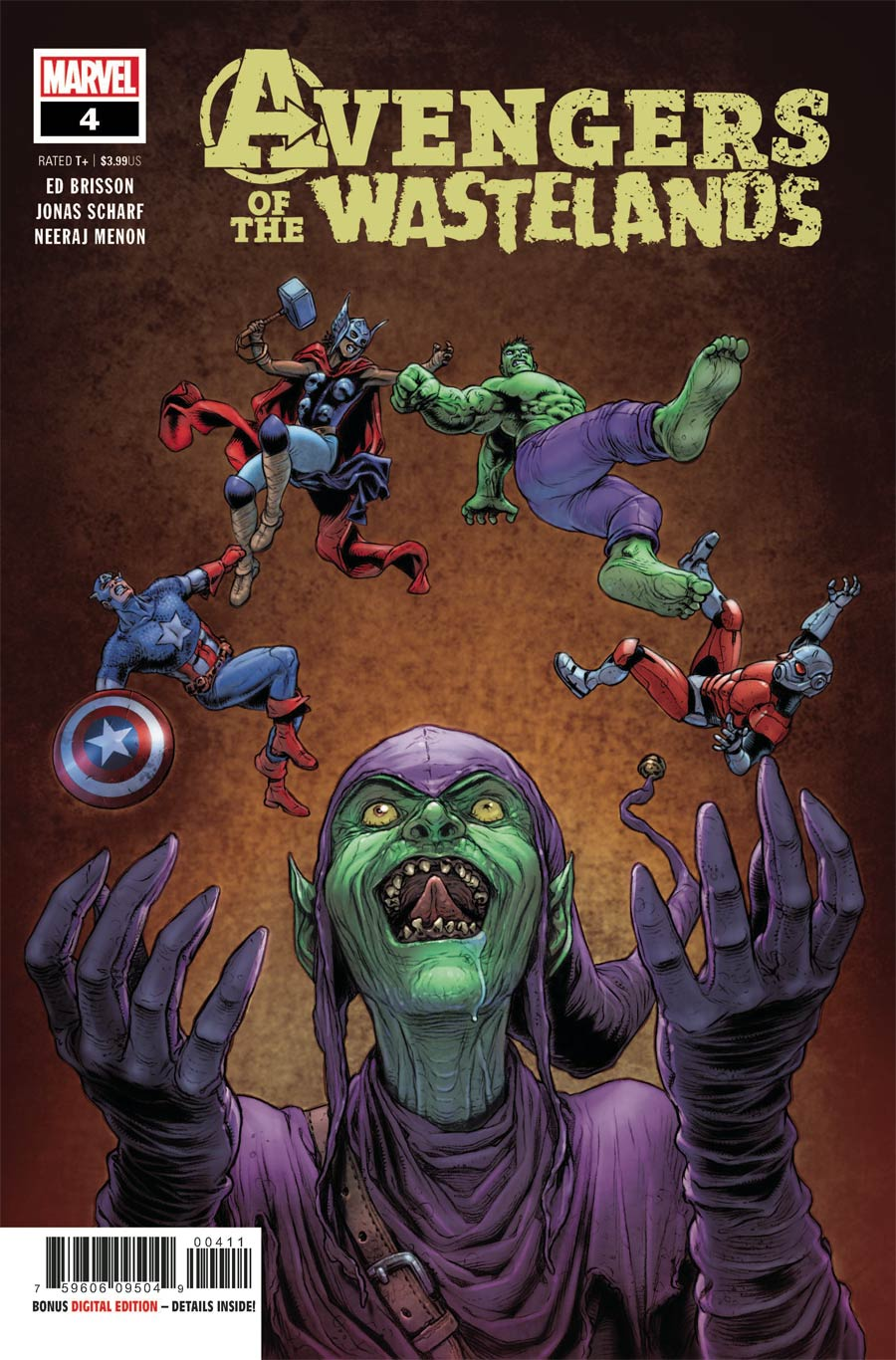 Avengers Of The Wastelands #4 Cover A Regular Juan Jose Ryp Cover