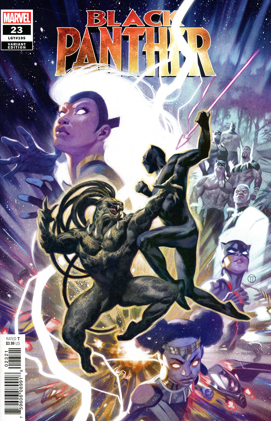 Black Panther Vol 7 #23 Cover C Variant Julian Totino Tedesco Cover