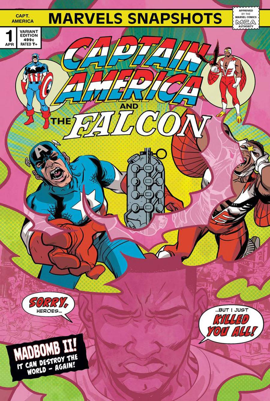 Captain America Marvels Snapshots #1 Cover B Variant Ramon K Perez Cover