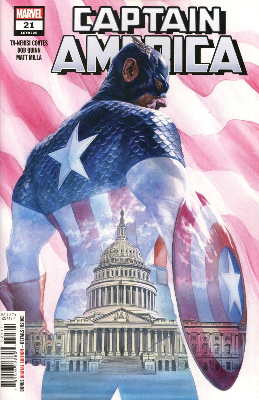 Captain America Vol 9 #21 Cover A Regular Alex Ross Cover