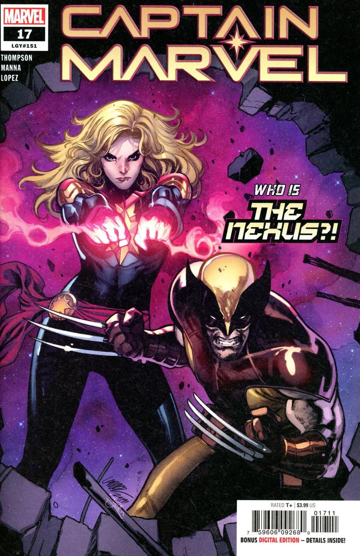 Captain Marvel Vol 9 #17 Cover A Regular Pepe Larraz Cover