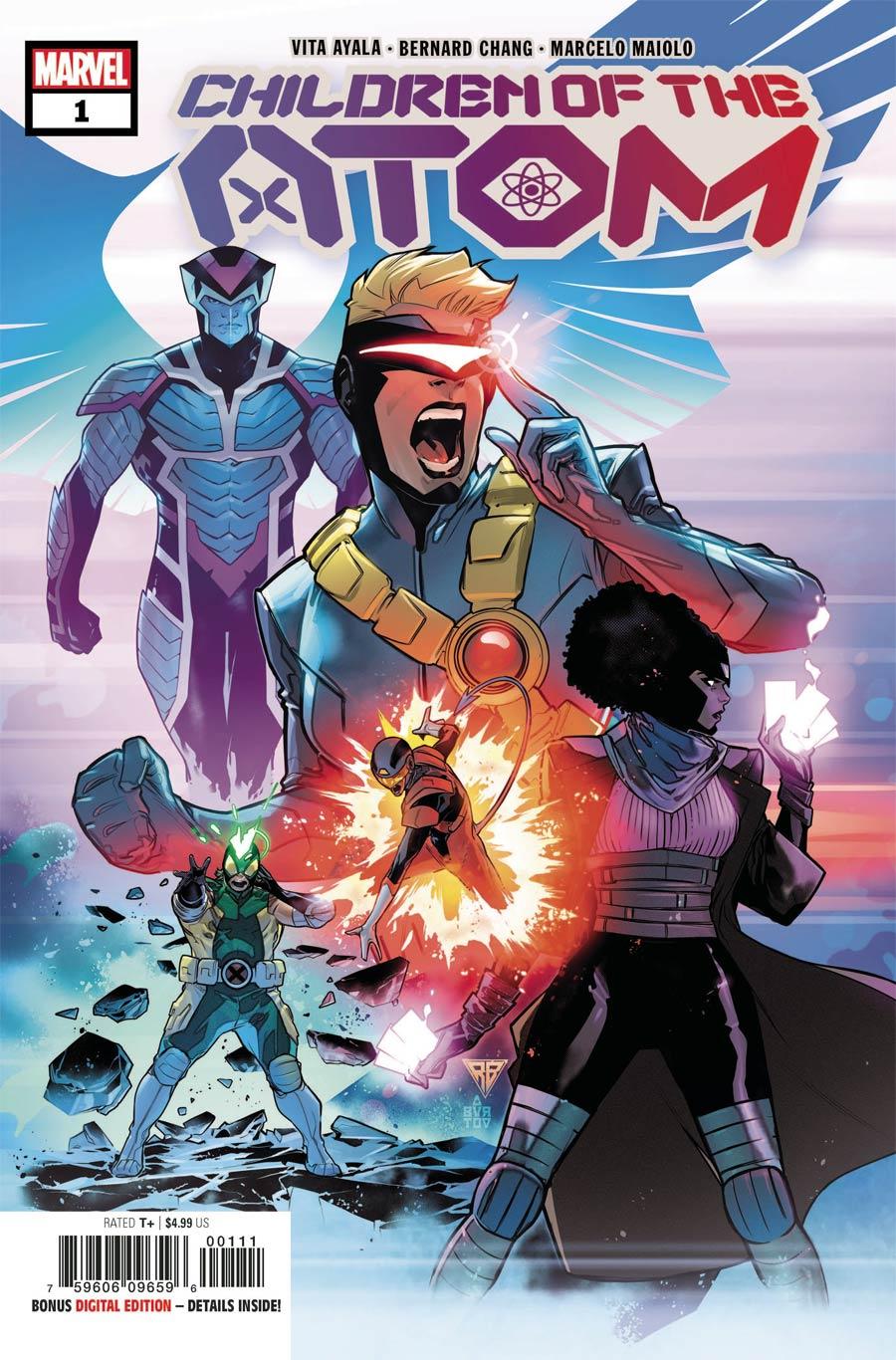 Children Of The Atom #1 Cover A Regular RB Silva Cover (Limit 1 Per Customer)