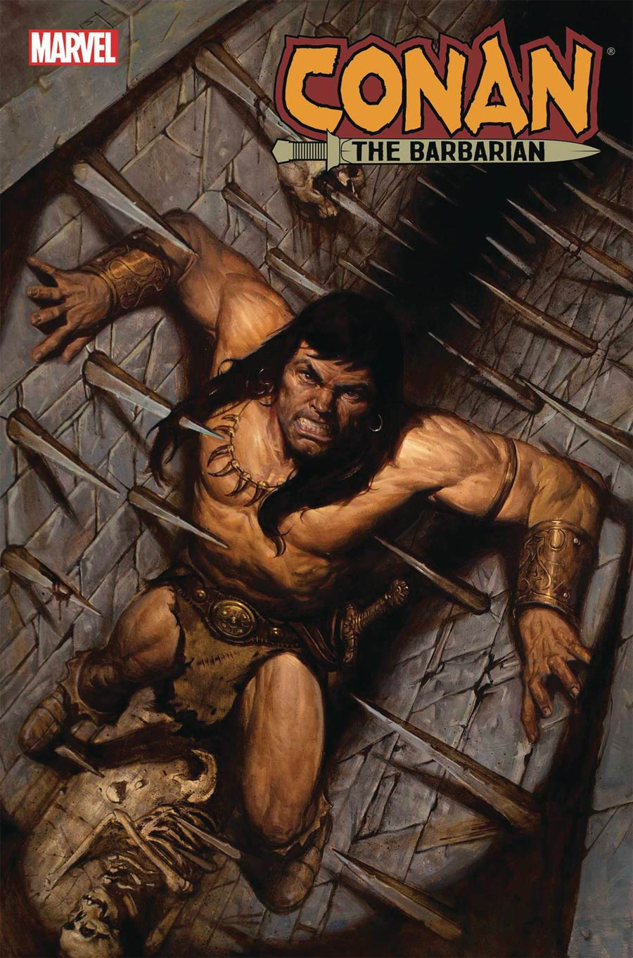 Conan The Barbarian Vol 4 #15 Cover A Regular EM Gist Cover