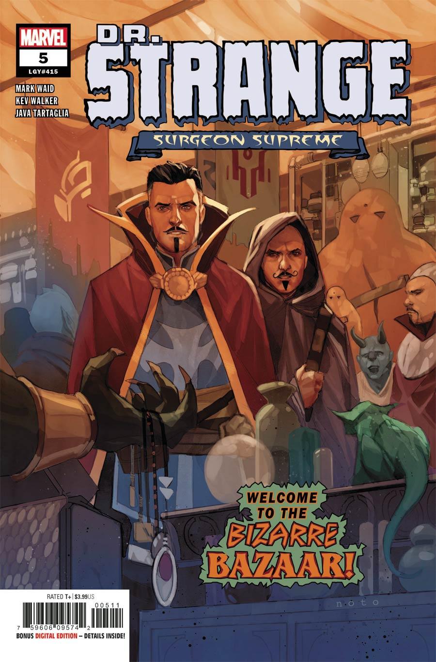 Doctor Strange Surgeon Supreme #5 Cover A Regular Phil Noto Cover