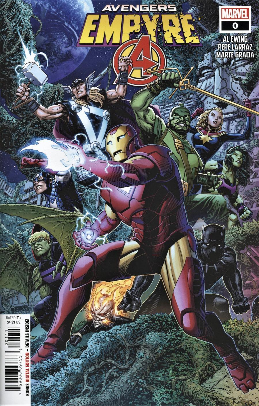 Empyre #0 Avengers Cover A Regular Jim Cheung Cover