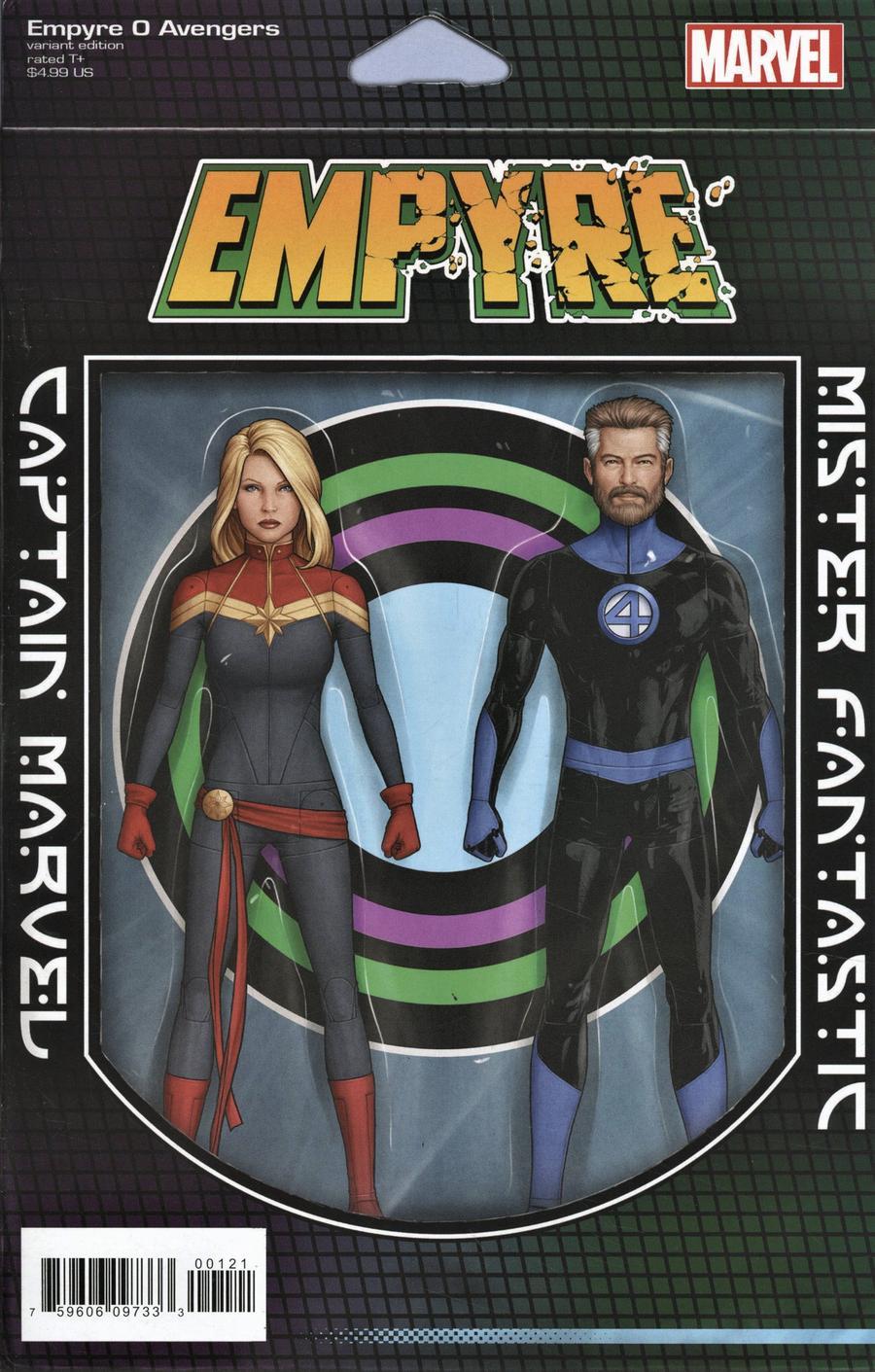 Empyre #0 Avengers Cover B Variant John Tyler Christopher 2-Pack Action Figure Cover