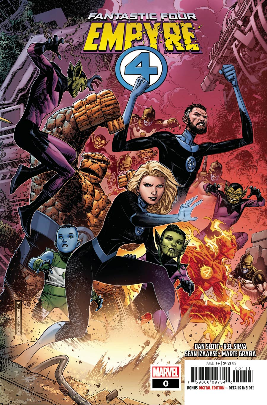 Empyre #0Fantastic Four Cover A Regular Jim Cheung Cover