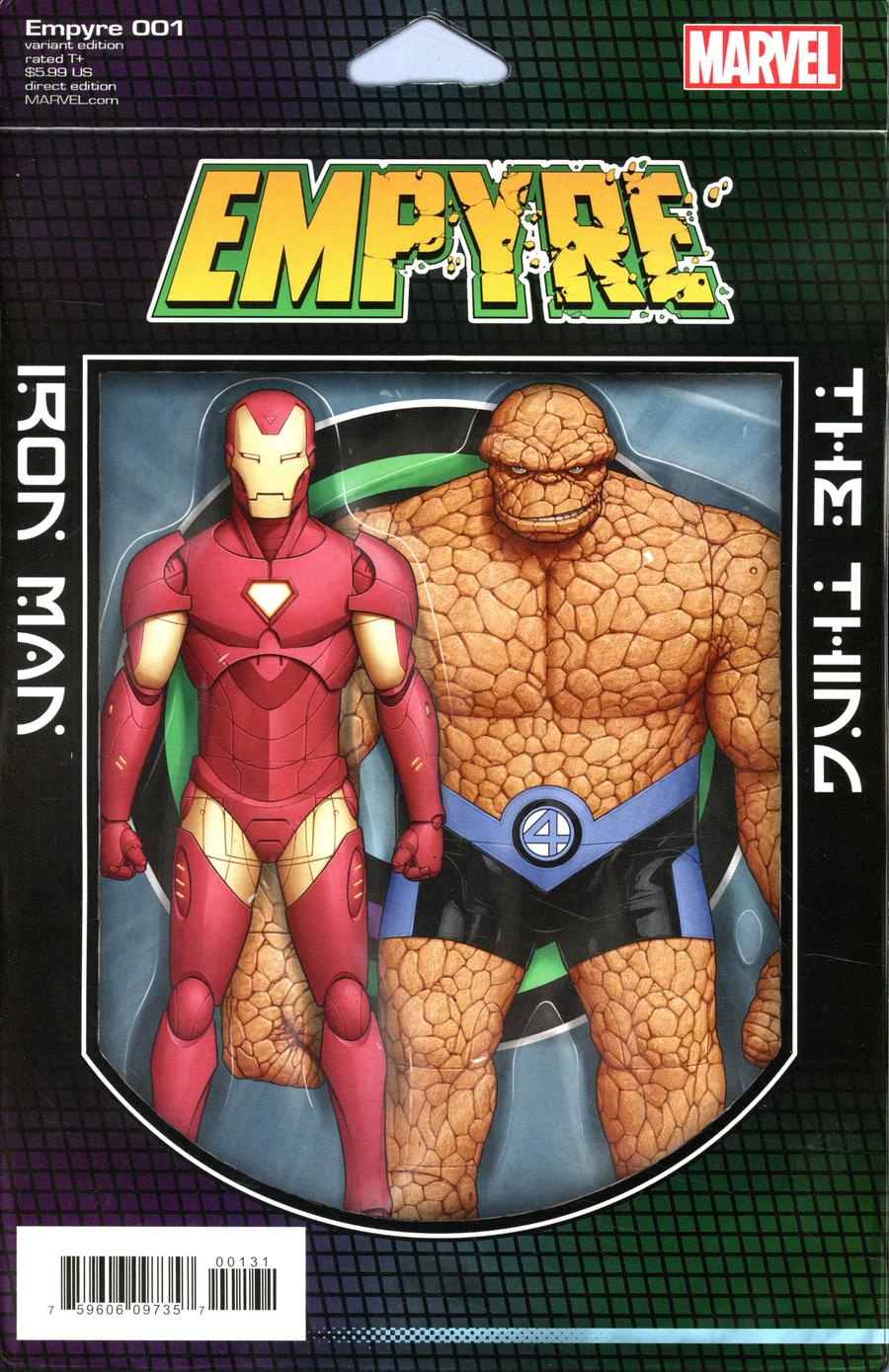 Empyre #1 Cover B Variant John Tyler Christopher 2-Pack Action Figure Cover