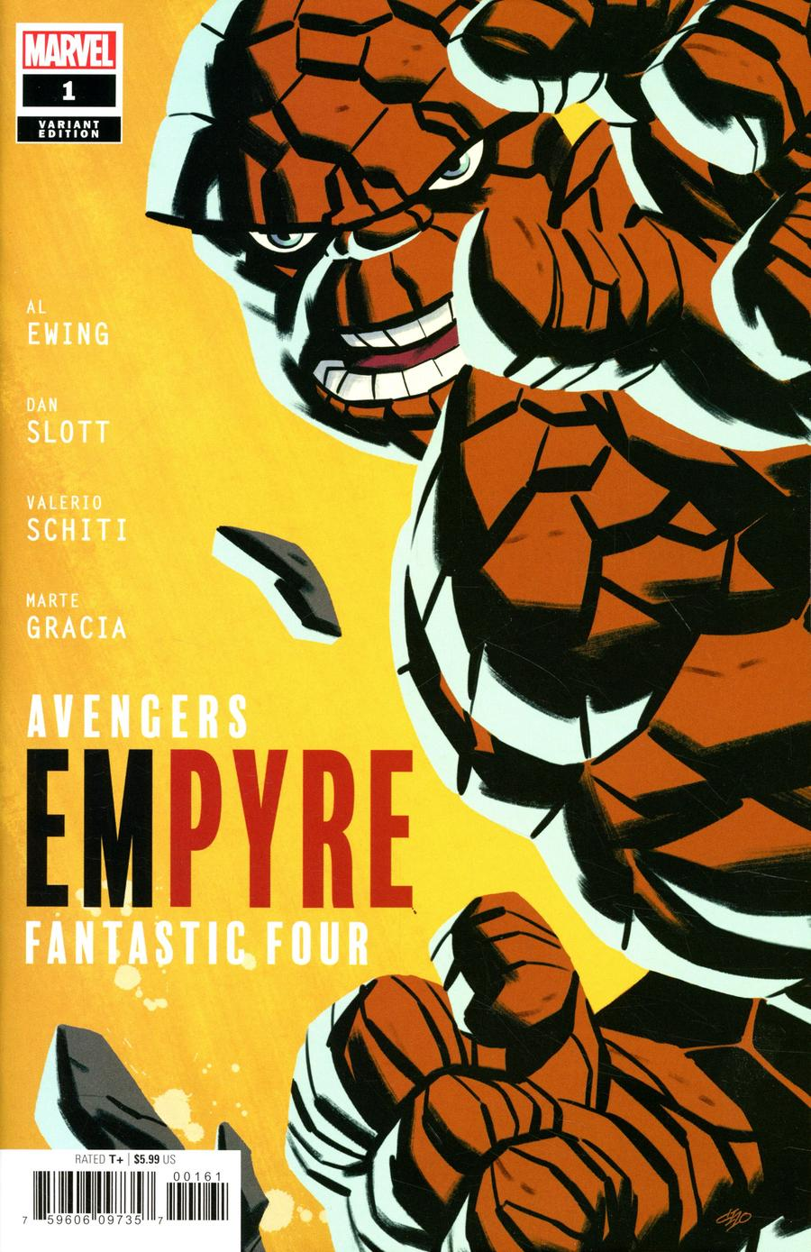 Empyre #1 Cover D Variant Michael Cho Fantastic Four Cover