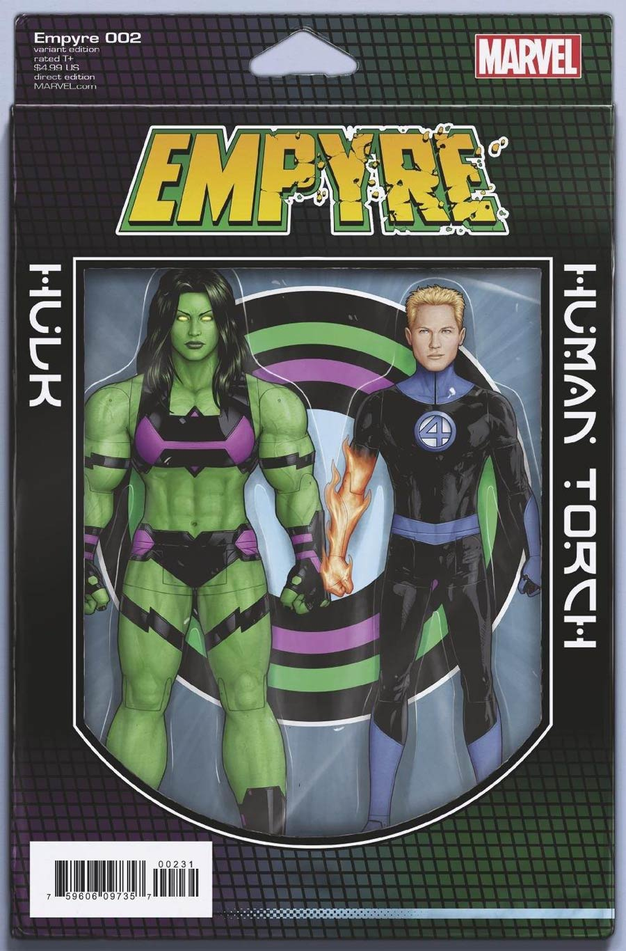 Empyre #2 Cover B Variant John Tyler Christopher 2-Pack Action Figure Cover