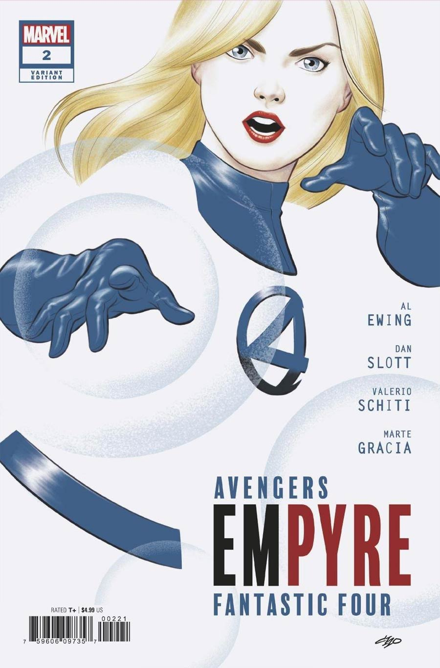 Empyre #2 Cover D Variant Michael Cho Fantastic Four Cover
