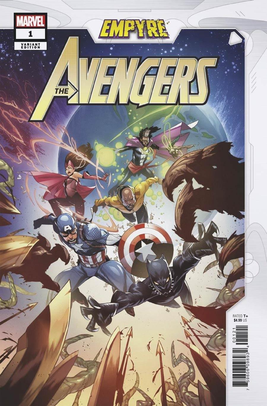 Empyre Avengers #1 Cover B Variant Kim Jacinto Cover