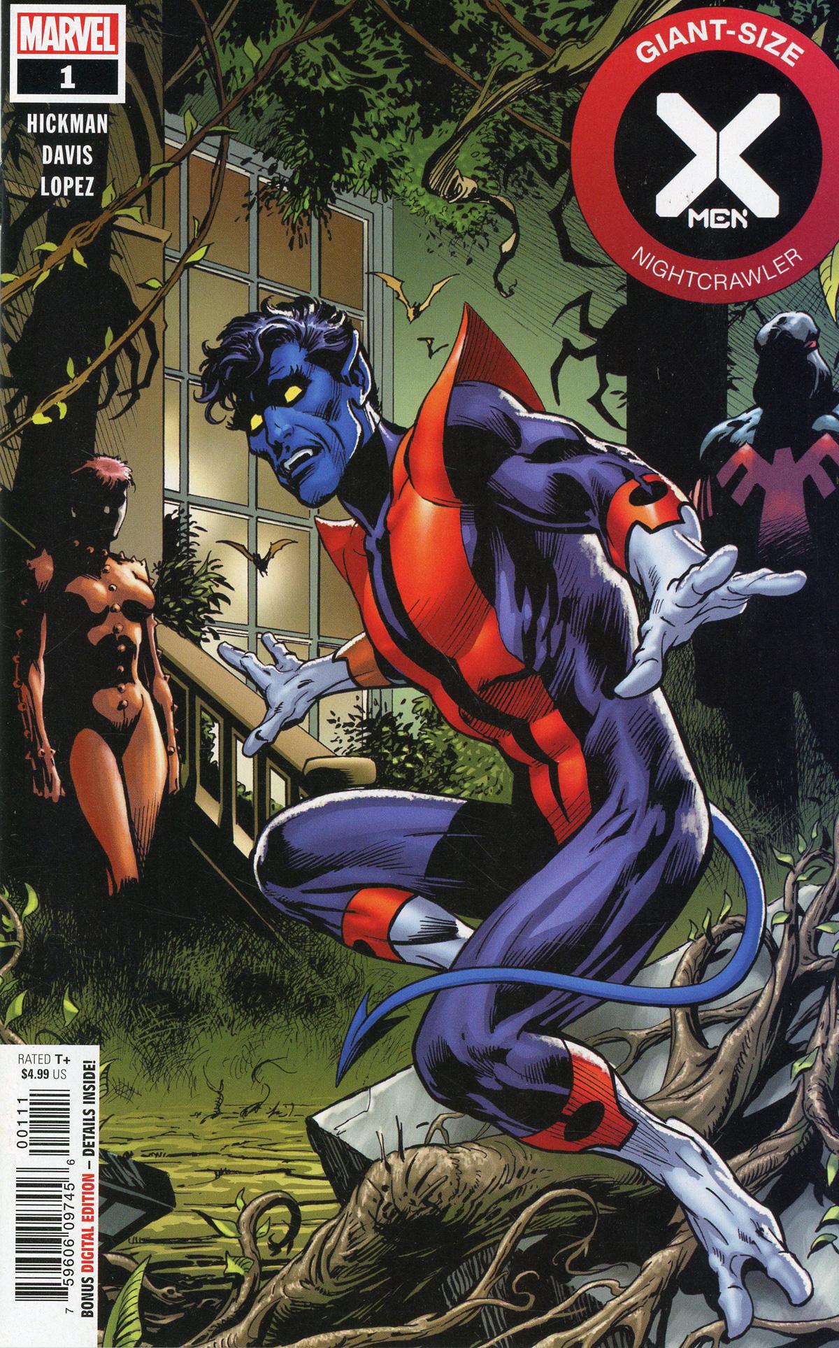 Giant-Size X-Men Nightcrawler #1 Cover A Regular Alan Davis Cover