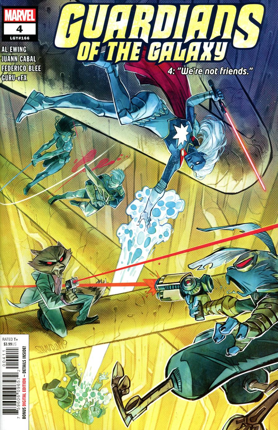 Guardians Of The Galaxy Vol 6 #4 Cover A Regular Ivan Shavrin Cover