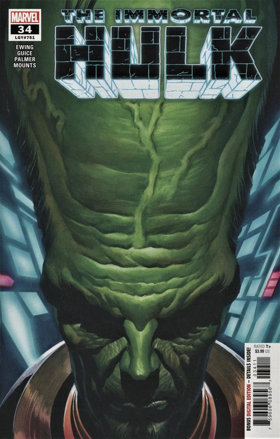 Immortal Hulk #34 Cover A Regular Alex Ross Cover