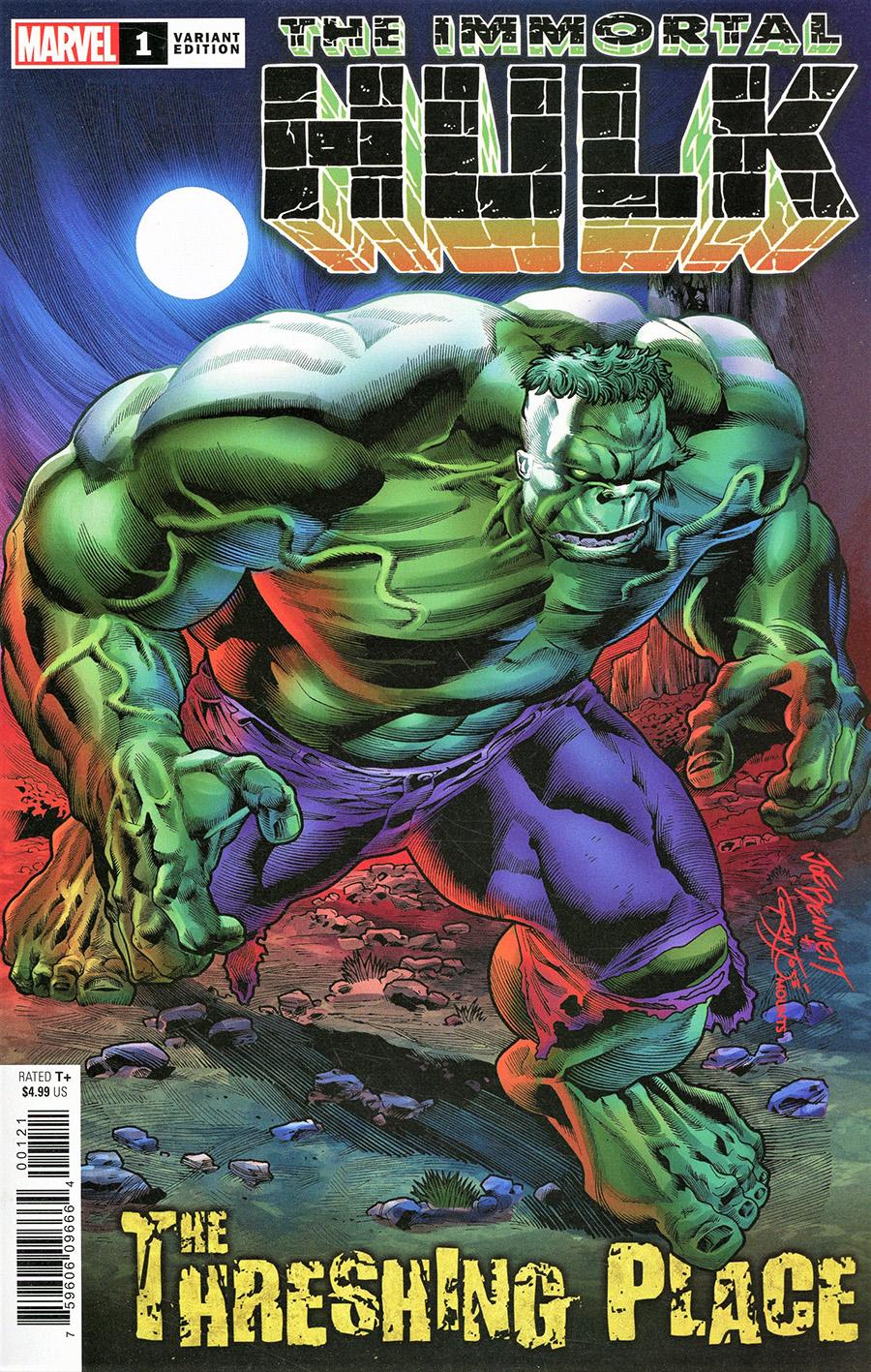 Immortal Hulk Threshing Place #1 Cover B Variant Joe Bennett Cover