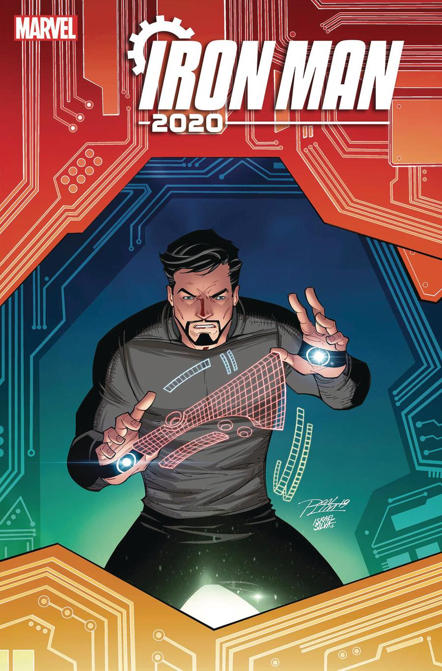 Iron Man 2020 #4 Cover D Variant Ron Lim Cover