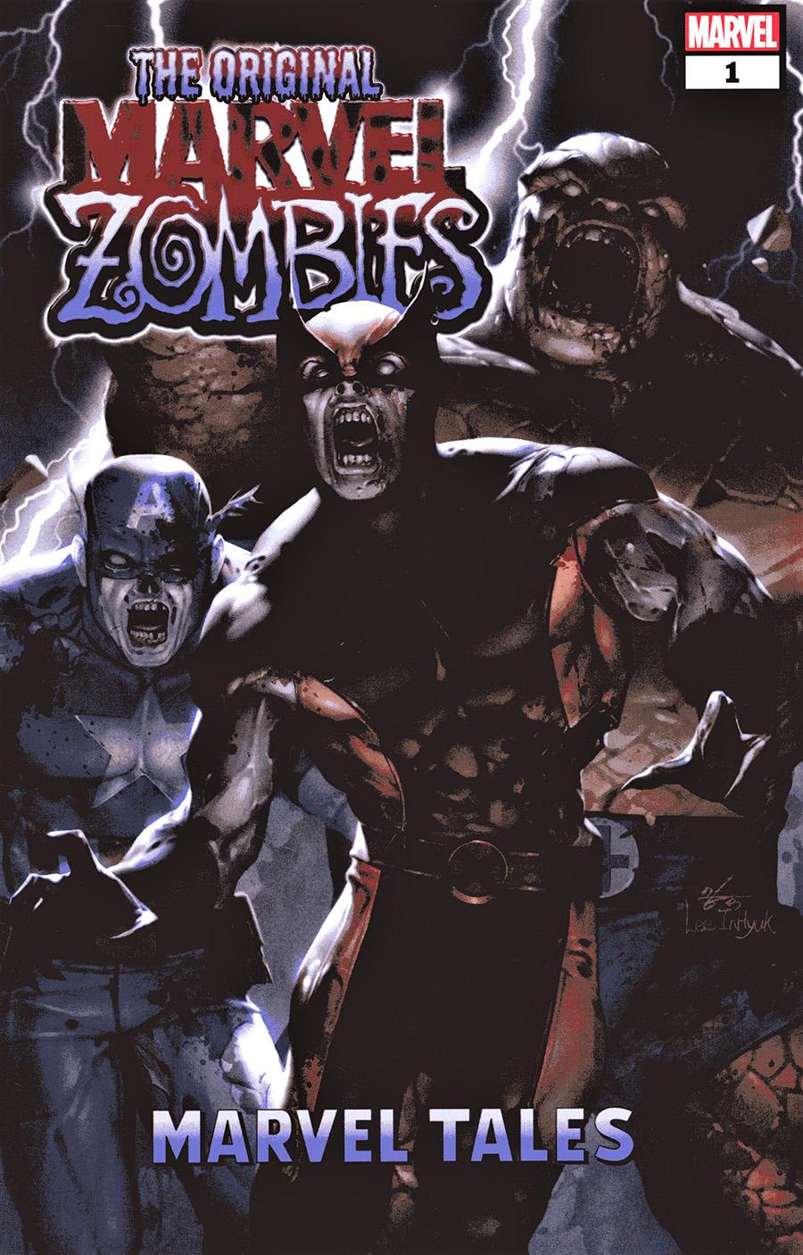 Original Marvel Zombies Marvel Tales #1 Cover A Regular Inhyuk Lee Cover