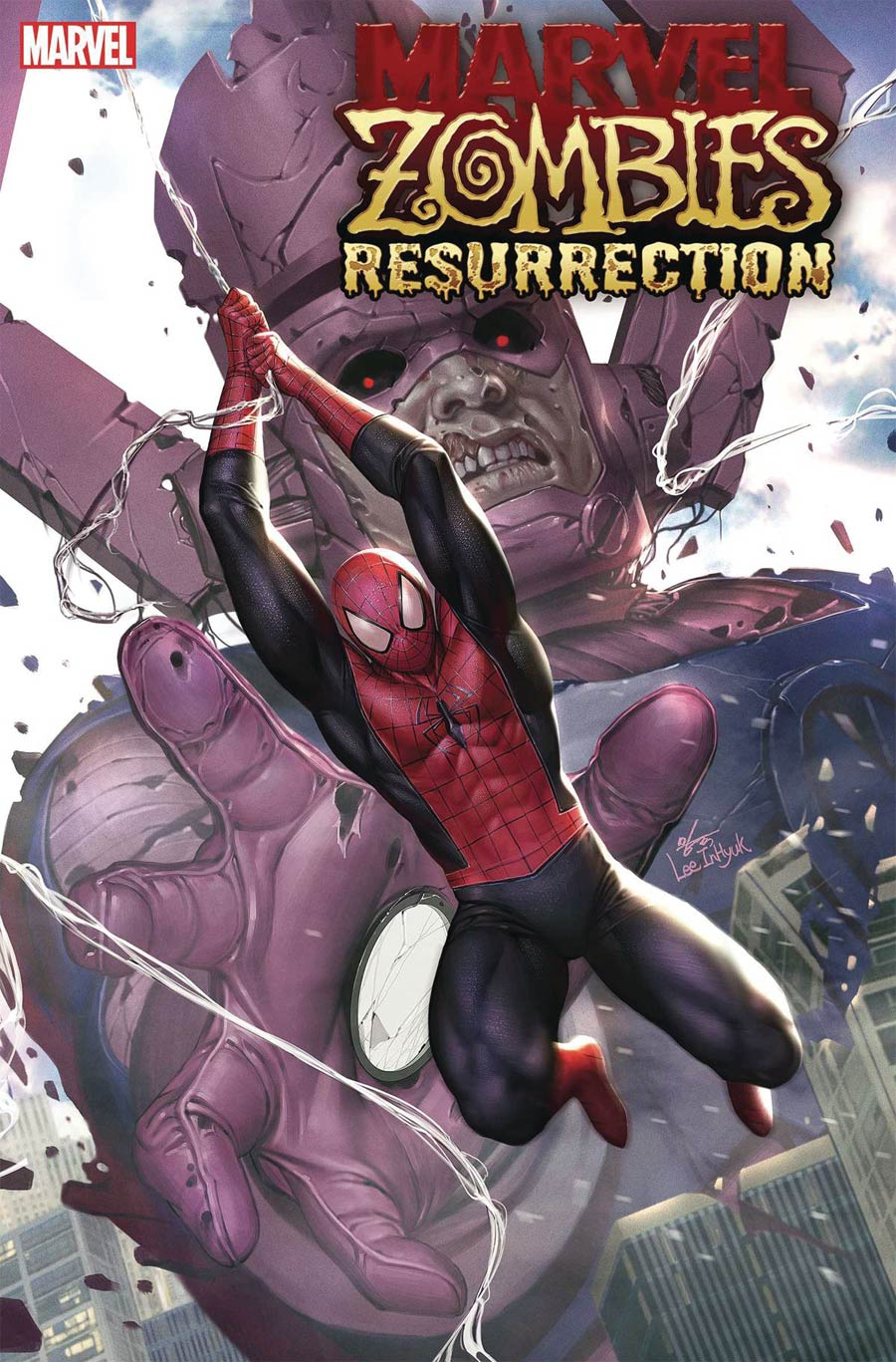 Marvel Zombies Resurrection #1 Cover A Regular Inhyuk Lee Cover