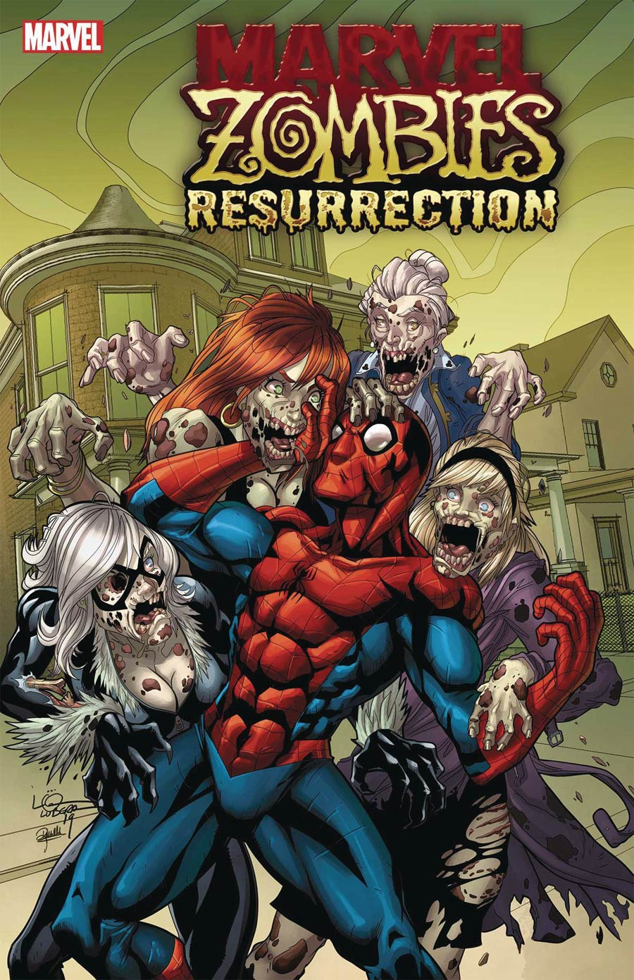 Marvel Zombies Resurrection #1 Cover C Variant Logan Lubera Cover