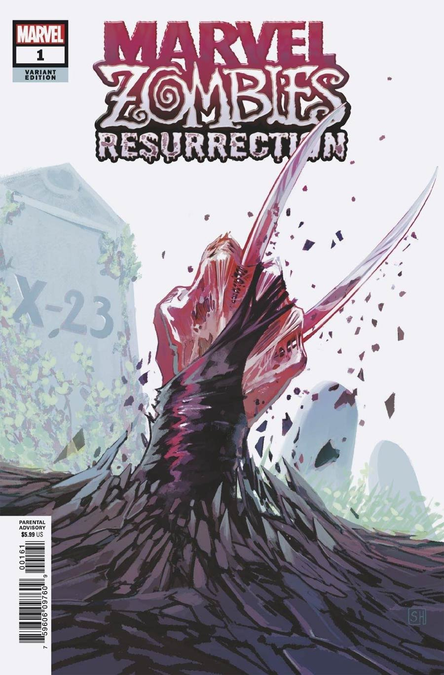 Marvel Zombies Resurrection #1 Cover D Variant Stephanie Hans Cover