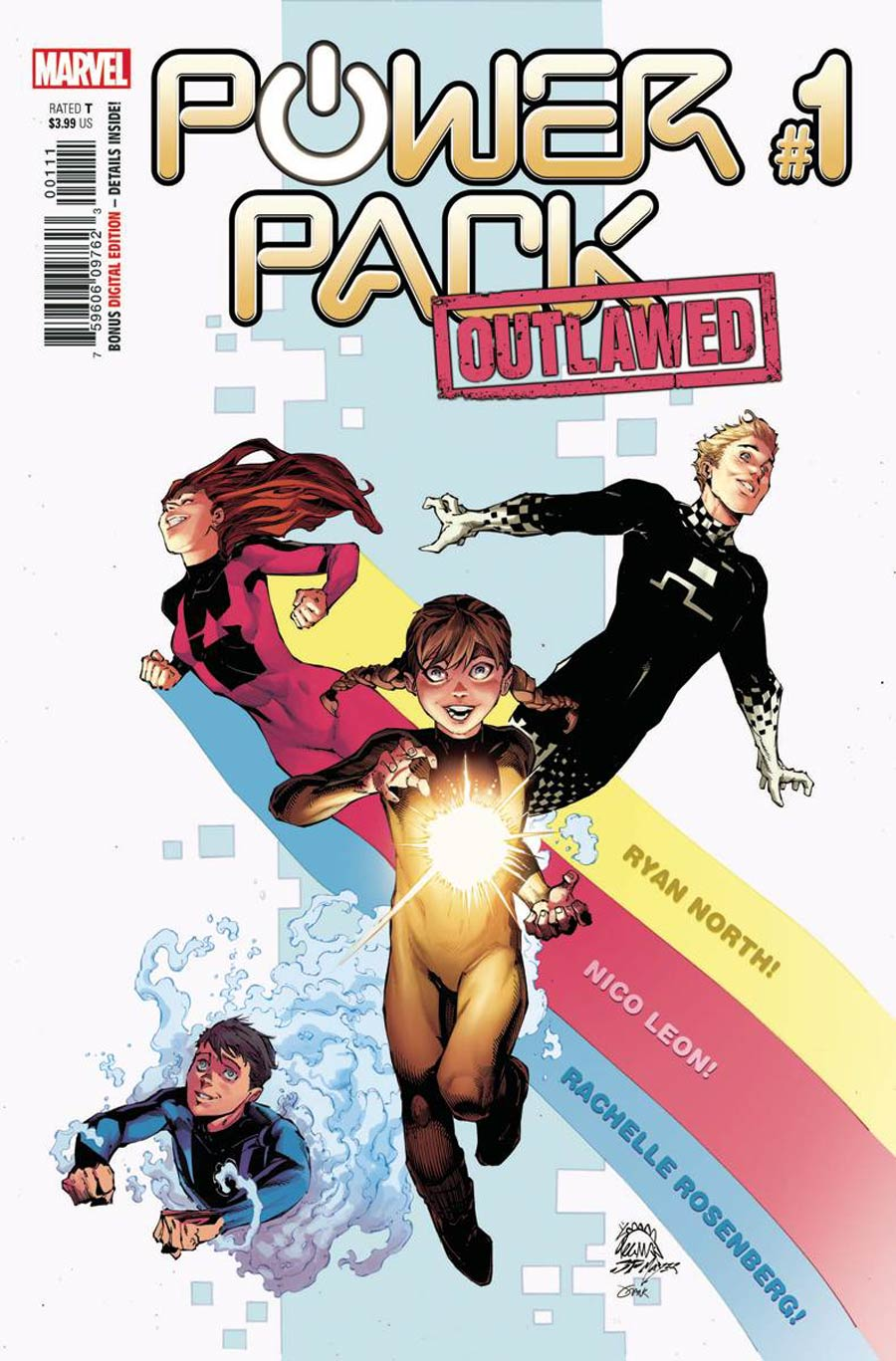 Power Pack Vol 4 #1 Cover A Regular Ryan Stegman Cover (Outlawed Tie-In)