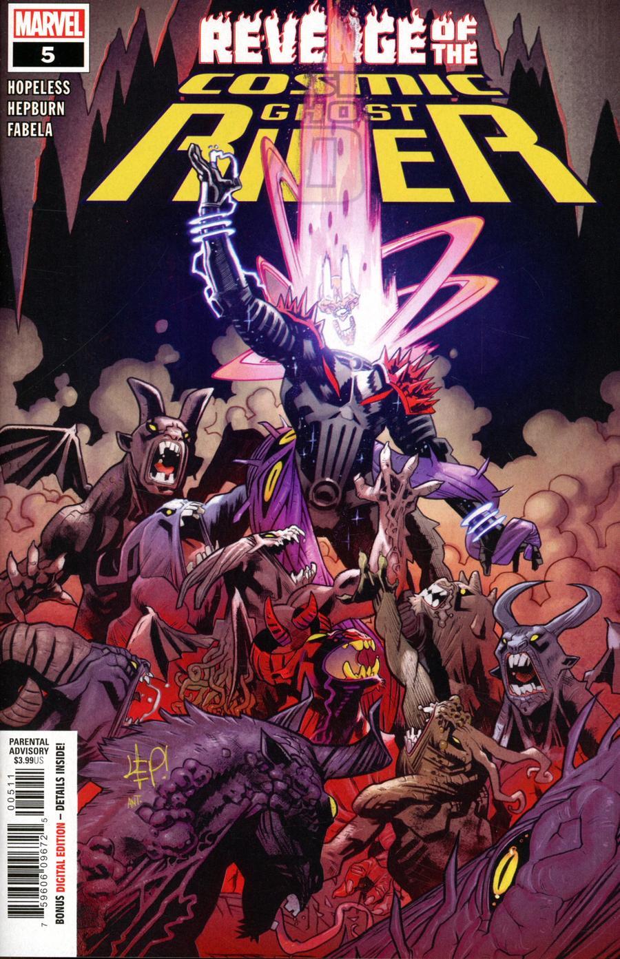 Revenge Of The Cosmic Ghost Rider #5 Cover A Regular Scott Hepburn Cover