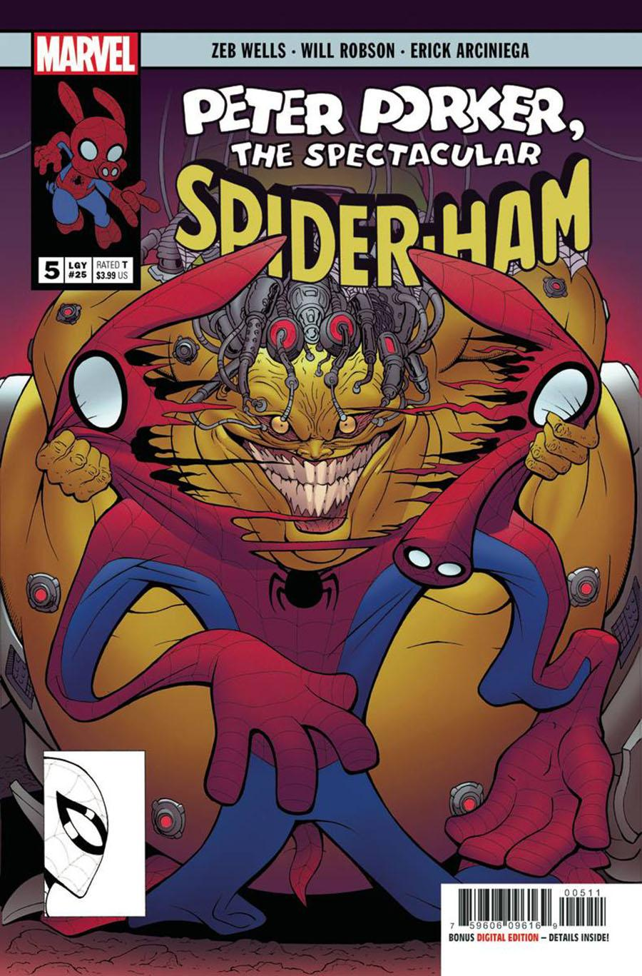 Spider-Ham #5 Cover A Regular Will Robson Cover