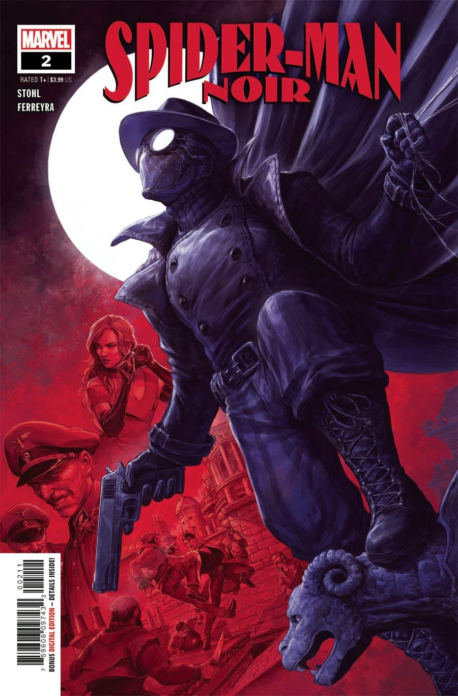 Spider-Man Noir Vol 2 #2 Cover A Regular Dave Rapoza Cover