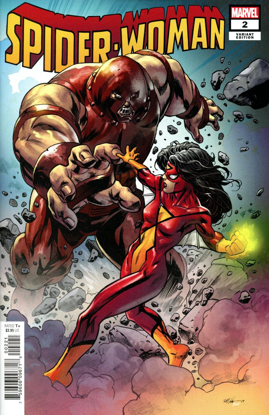 Spider-Woman Vol 7 #2 Cover C Variant Mike Hawthorne Villain Cover