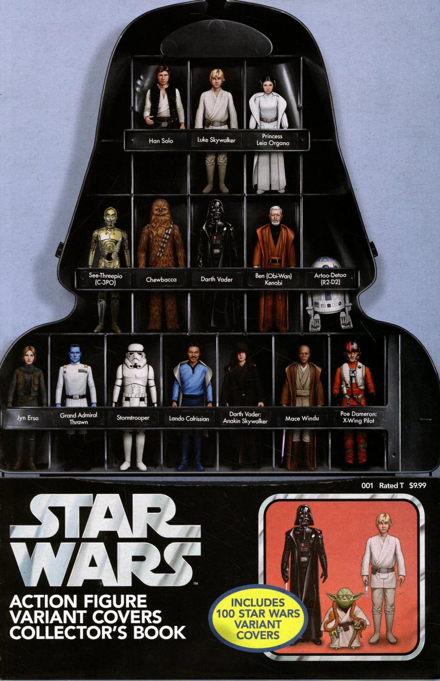 Star Wars Action Figure Variant Covers #1 Cover B Variant John Tyler Christopher Cover