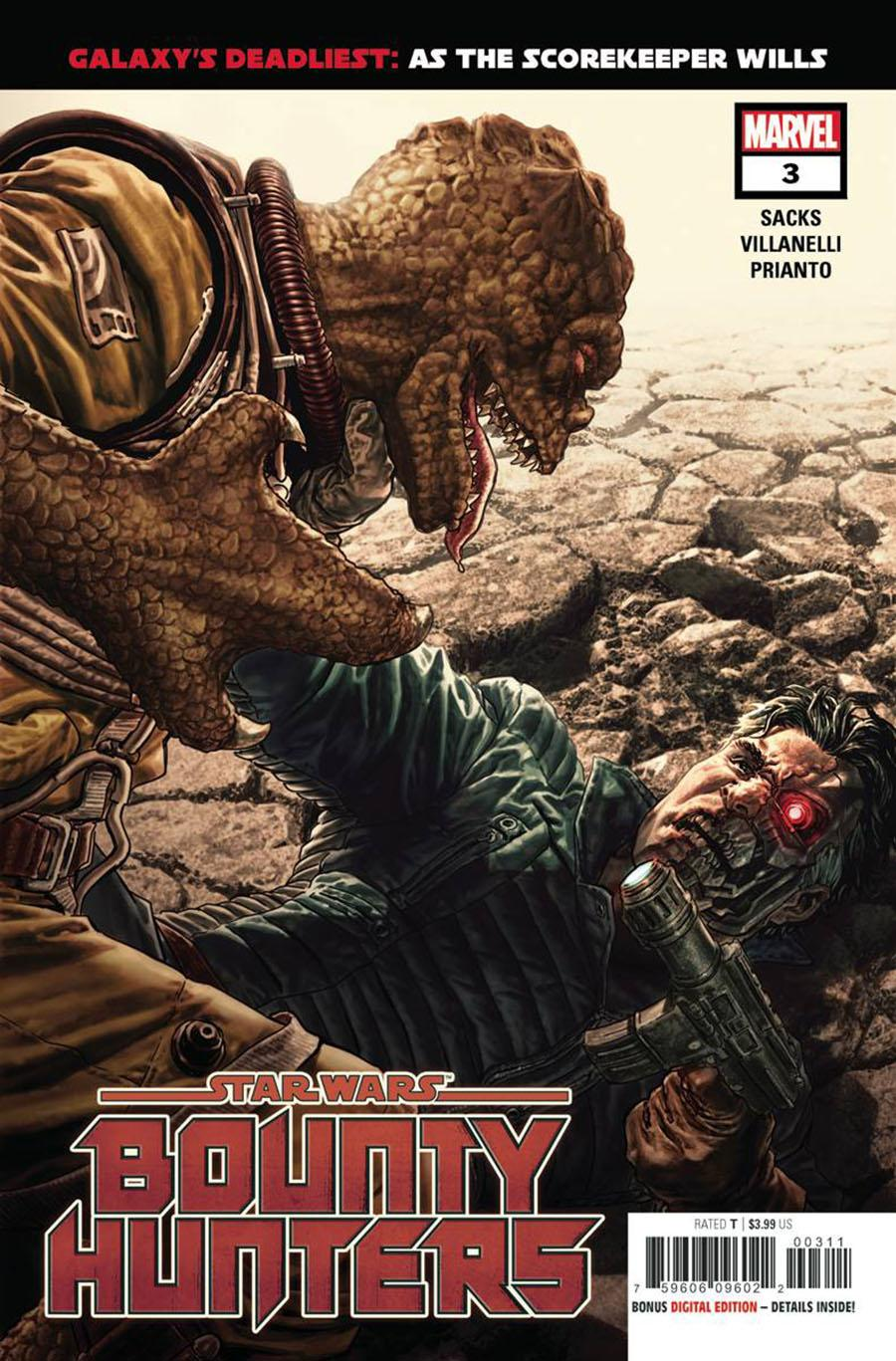 Star Wars Bounty Hunters #3 Cover A Regular Lee Bermejo Cover